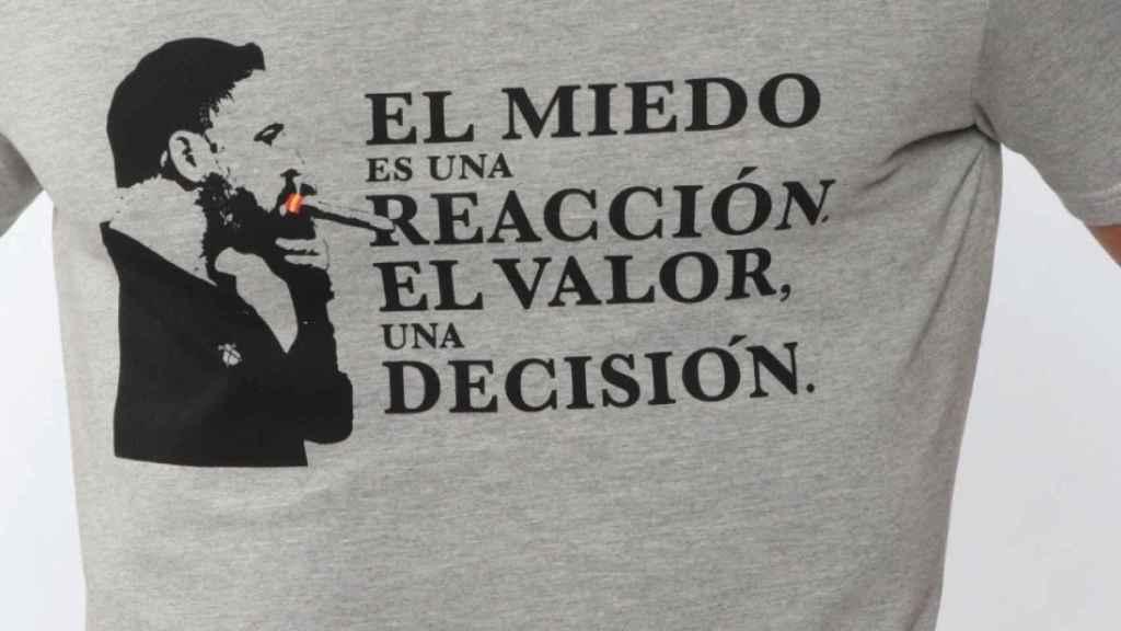La camiseta que llevaba 'Chimy' Ávila