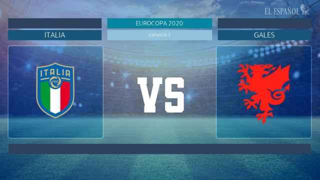 Horario internacional y dónde ver el Italia - Gales de la Eurocopa 2020