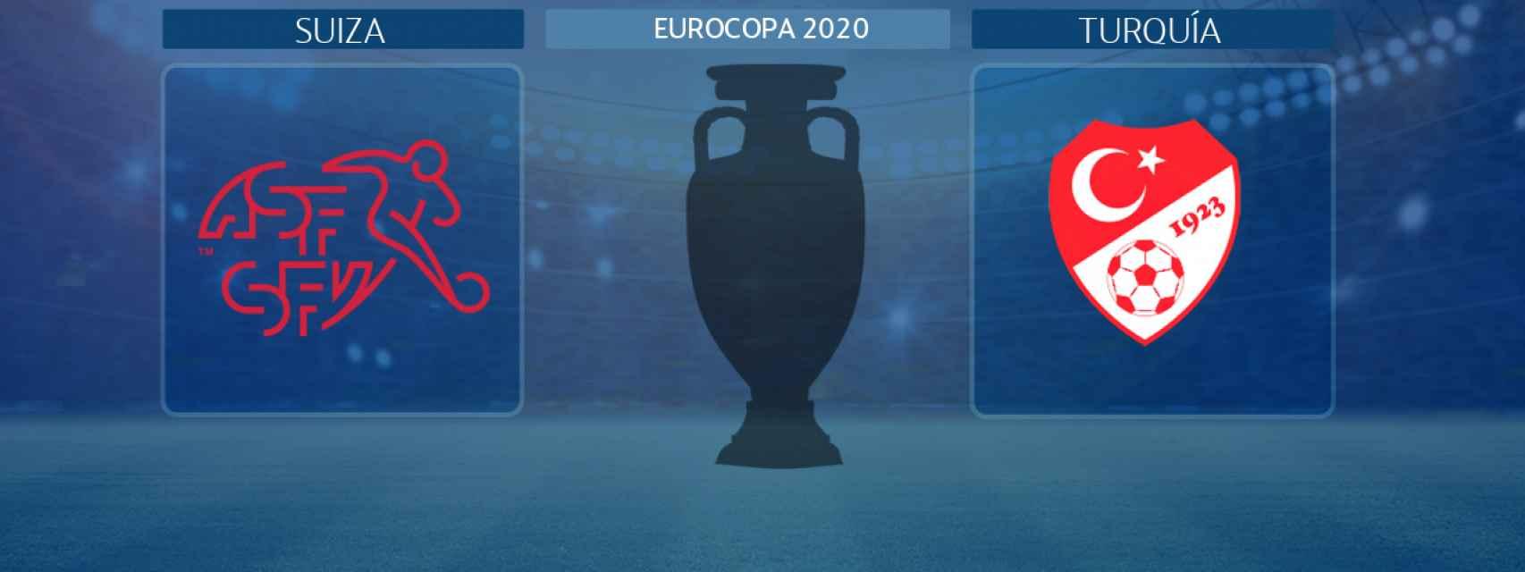 Suiza - Turquía, partido de la Eurocopa 2020