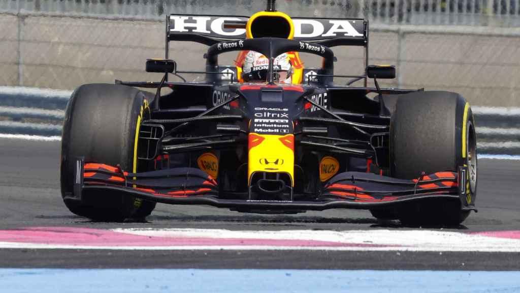 Max Verstappen en el Gran Premio de Francia