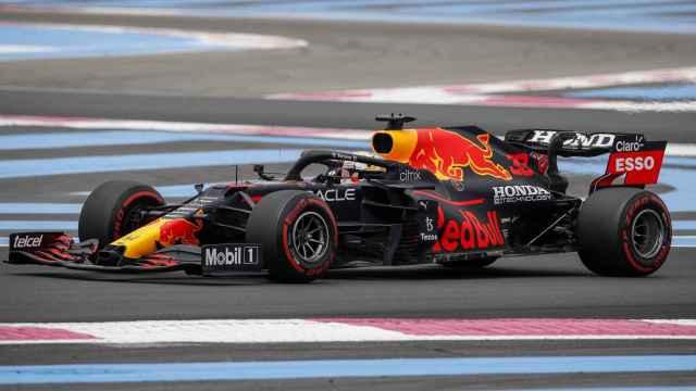 Max Verstappen, en el GP de Francia