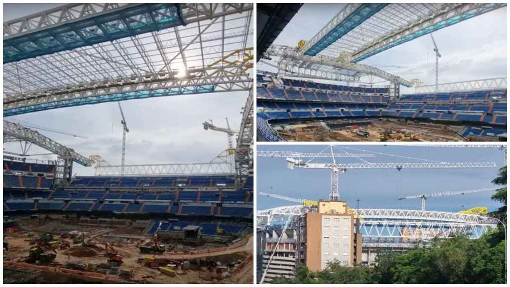 Obras Santiago Bernabéu