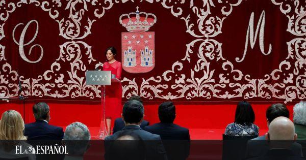 Investidura de Isabel Díaz Ayuso como presidenta de la Comunidad de Madrid