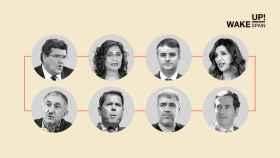 Estos son los ocho negociadores clave de los fondos europeos.