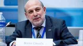 El socialista letón Boriss Cilevics, impulsor del informe del Consejo de Europa partidario de los indultos.