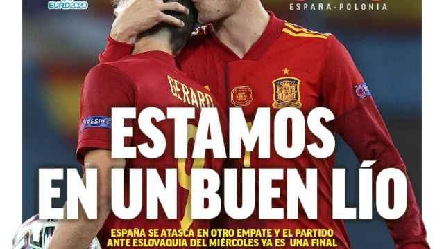 La portada del diario MARCA (20/06/2021)