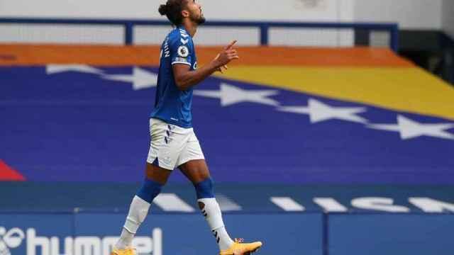 Calvert-Lewin con el Everton