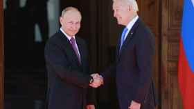 Vladimir Putin y Joe Biden, la pasada semana.