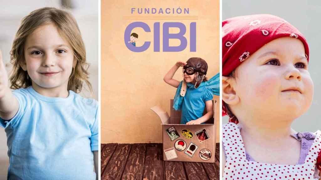 Uno de los carteles promocionales en los dípticos de la Fundación CIBI.
