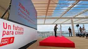 Ximo Puig en un acto en Alicante el domingo.