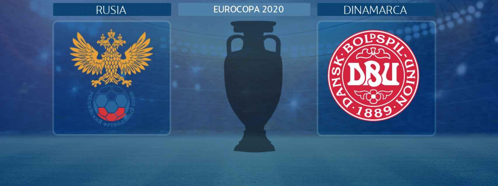 Rusia - Dinamarca, partido de la Eurocopa 2020