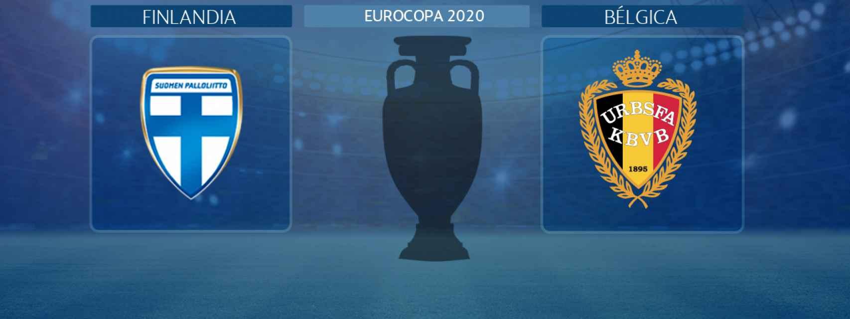 Finlandia - Bélgica, partido de la Eurocopa 2020