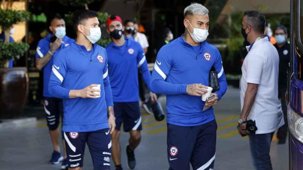 Los jugadores de Chile, concentrados para la Copa América