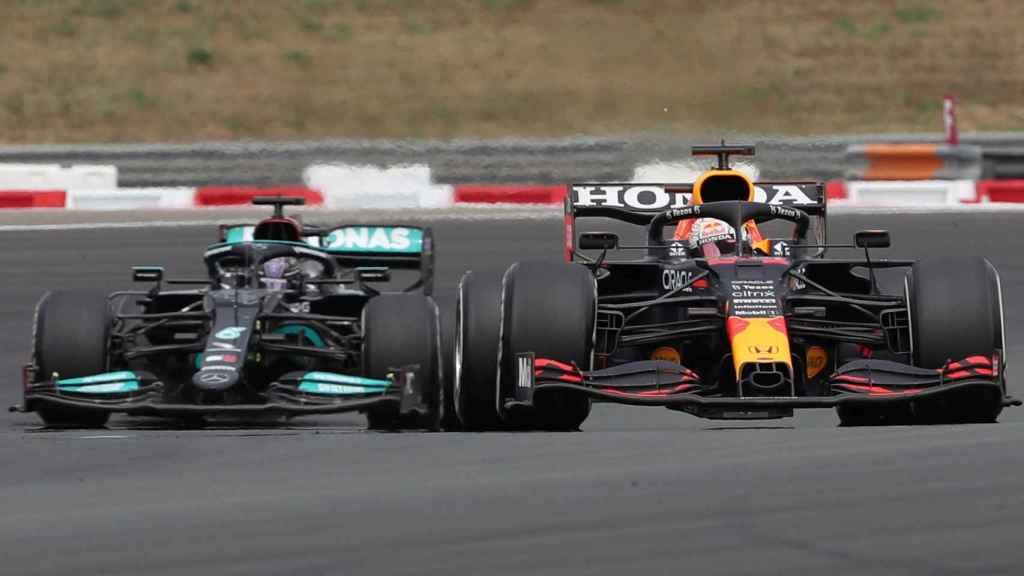 Verstappen adelanta a Lewis Hamilton en el GP de Francia