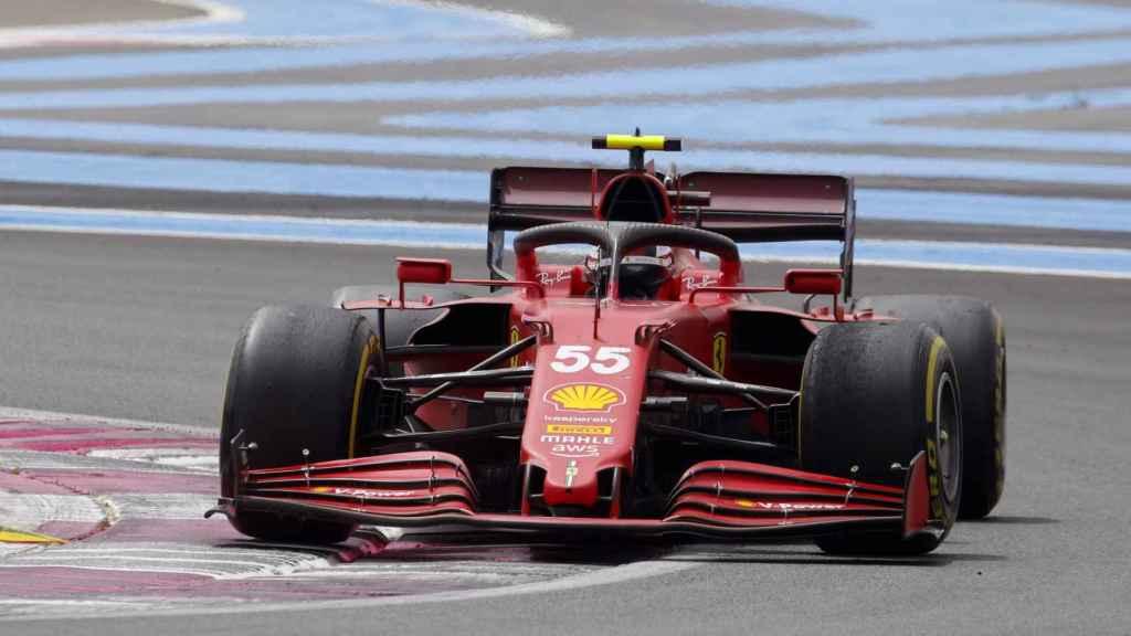Carlos Sainz en el Gran Premio de Francia
