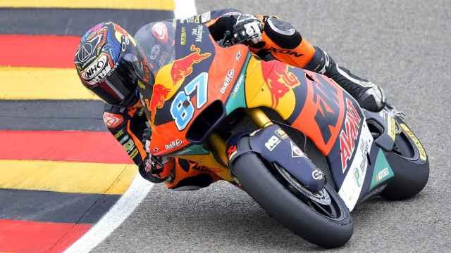 Gardner en la carrera de Moto2