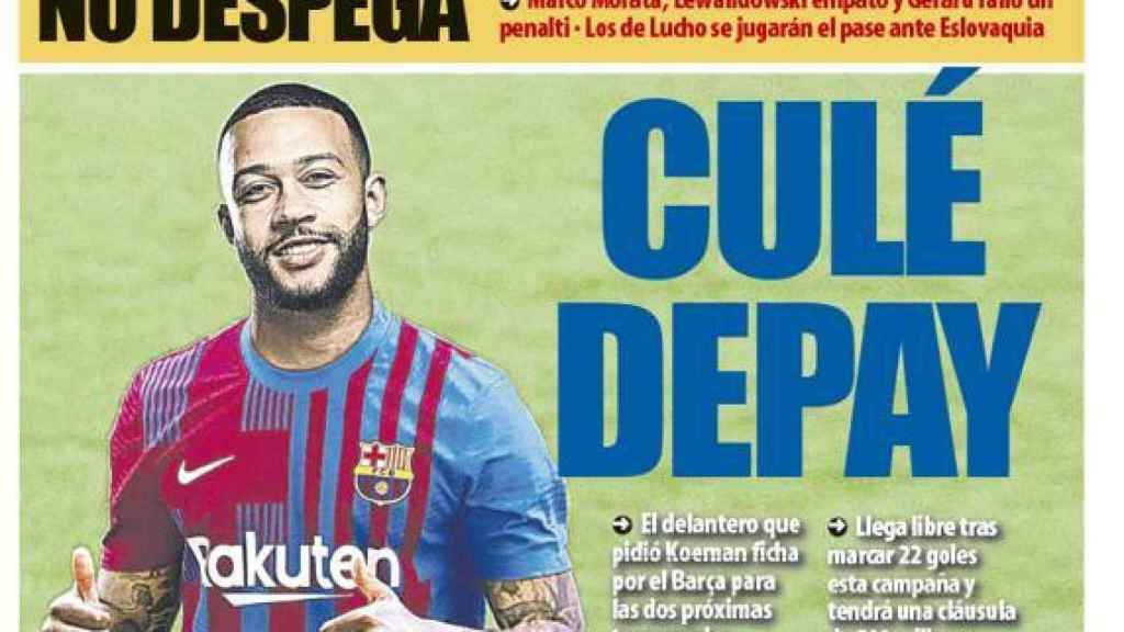 La portada del diario Mundo Deportivo (20/06/2021)