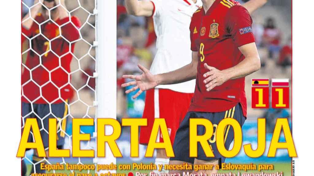 La portada del diario AS (20/06/2021)
