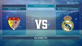 Streaming en directo | Santa Teresa  - Real Madrid Femenino