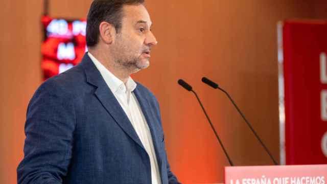 El secretario de Organización del PSOE y ministro de Transporte, José Luis Ábalos.