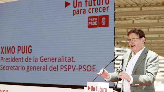 El presidente de la Generalitat, Ximo Puig.