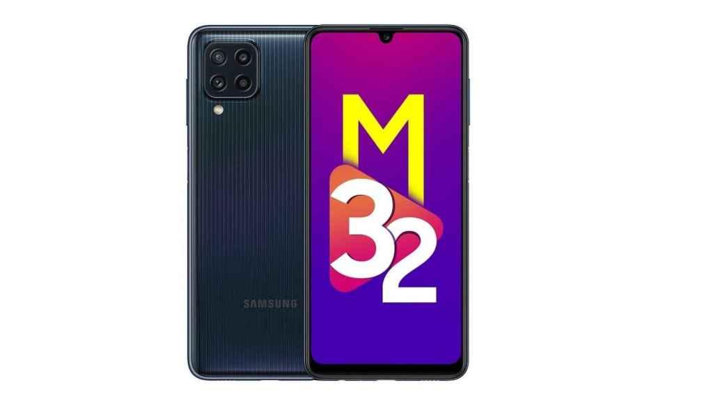 Galaxy M32 diseño