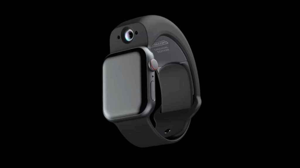 Wristcam para Apple Watch.
