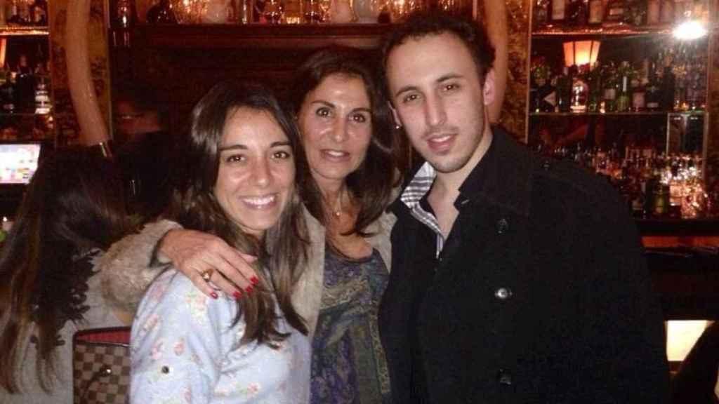 Nicole, Débora y Andrés-Jacobo Chocron