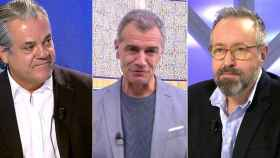 Marcos de Quinto, Toni Cantó y Juan Carlos Girauta.