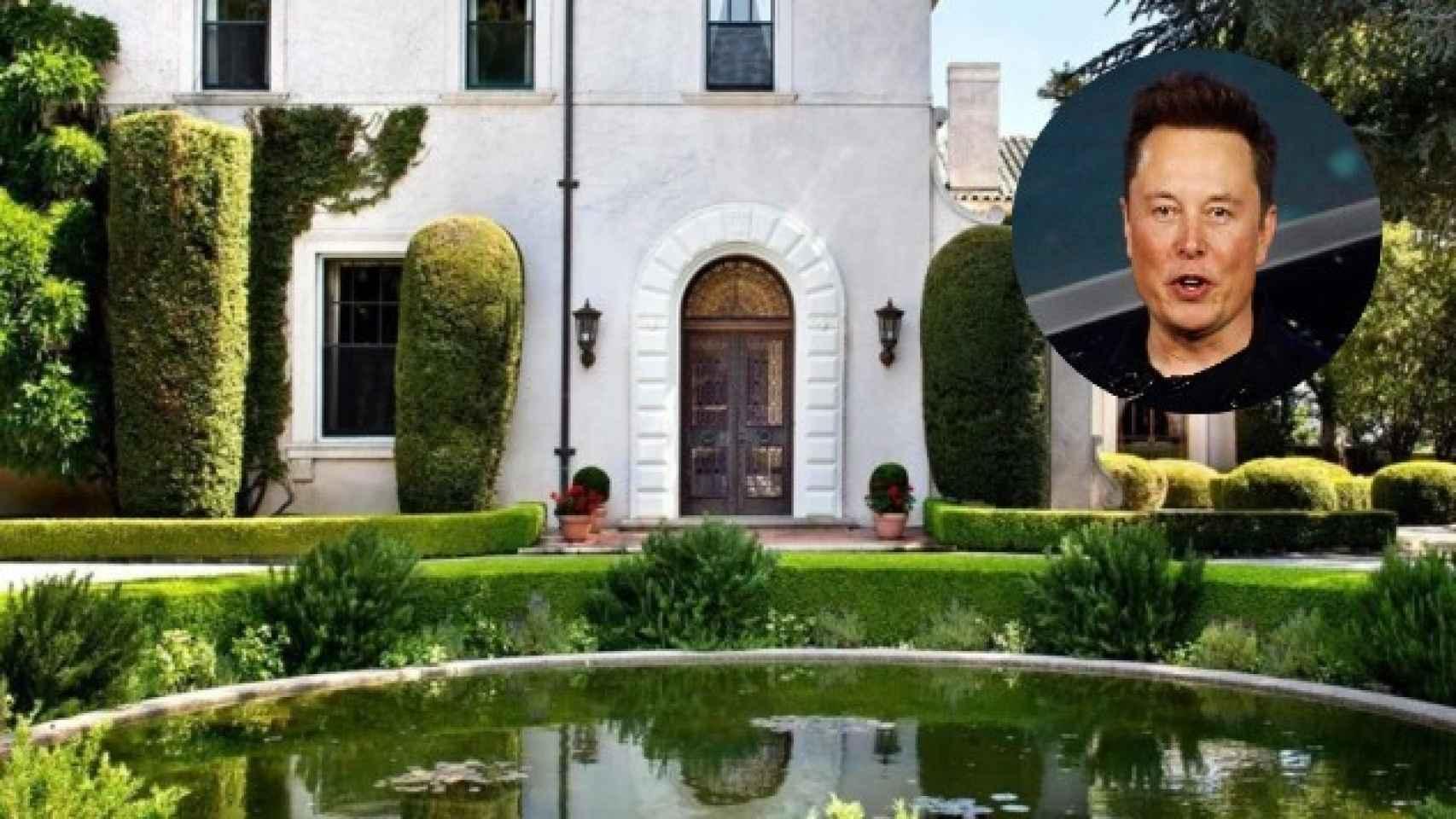 Esta es la mansión que Elon Musk vende por 31 millones de euros en San Francisco