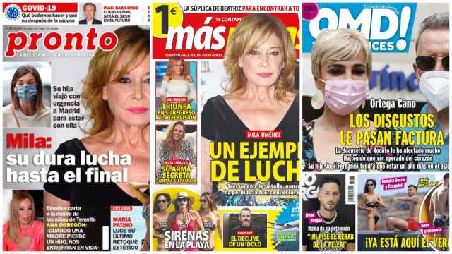 Kiosco rosa: el 'arma' secreta de Rocío Carrasco contra su familia