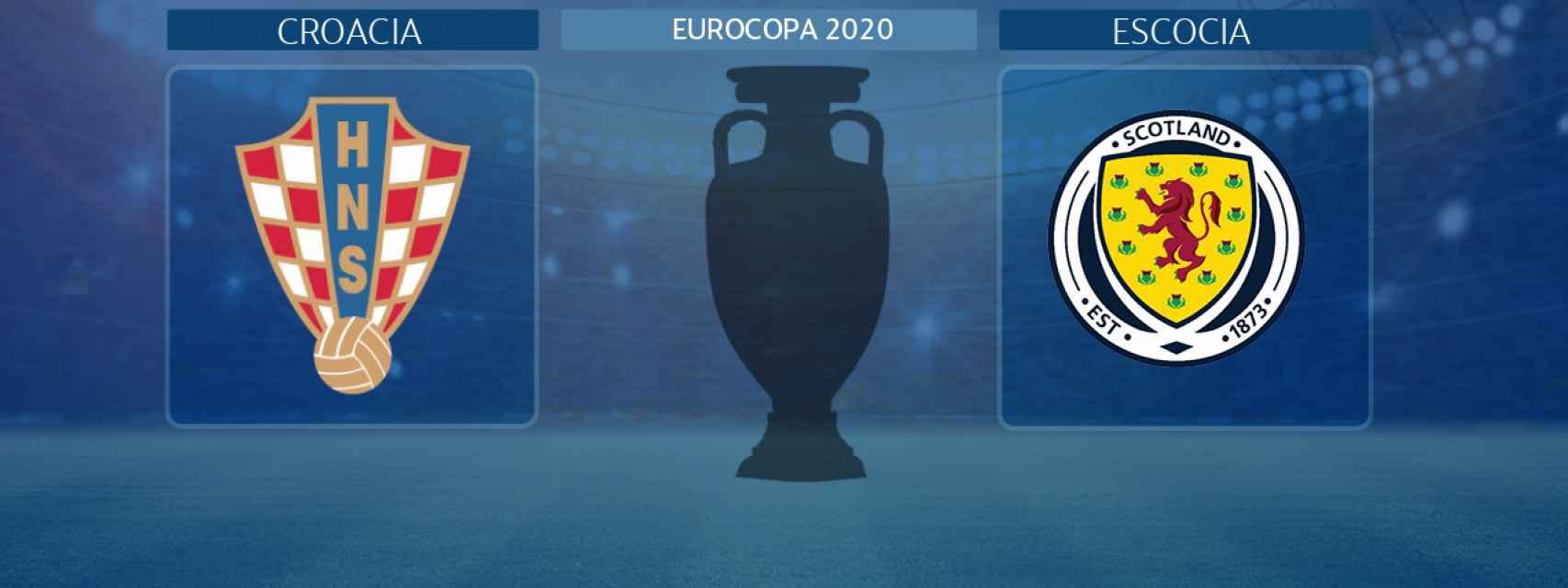 Croacia - Escocia, partido de la Eurocopa 2020