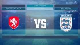 Horario internacional y dónde ver el República Checa - Inglaterra de la Eurocopa 2020