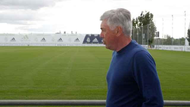 Carlo Ancelotti comienza a trabajar en la Ciudad Real Madrid para preparar la 2021/2022