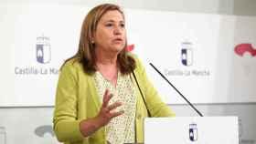 Rosana Rodríguez, consejera de Educación de Castilla-La Mancha, en una imagen reciente