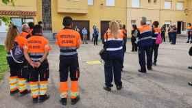 Integrantes de las agrupaciones de Protección Civil de Castilla-La Mancha participan en cursos formativos para perfeccionar el desarrollo de sus funciones