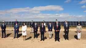 Inauguración este lunes en Manzanares (Ciudad Real) del primer complejo fotovoltaico de Repsol Kappa