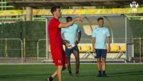 Víctor Cea continúa. Foto: CF Talavera