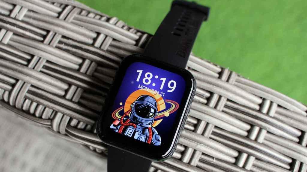 El Realme Watch 2 Pro tiene un diseño similar al Apple Watch.