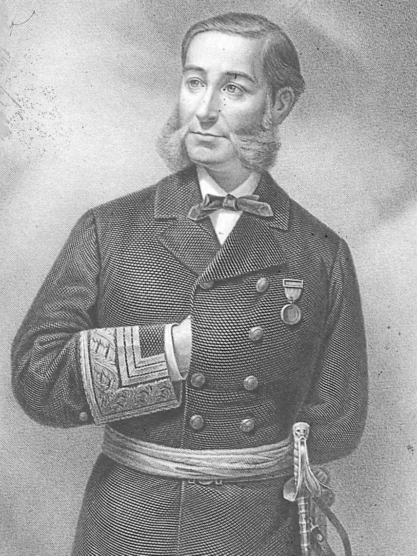 Retrato de Casto Méndez Núñez.