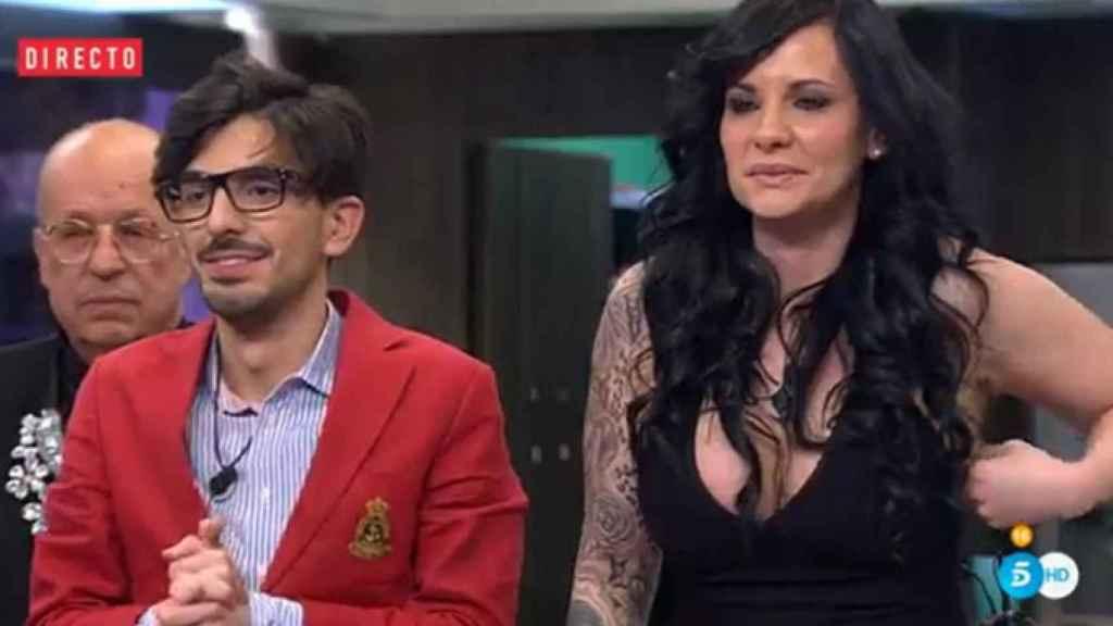 Laura Campos y Dani Santos en 'GH VIP'