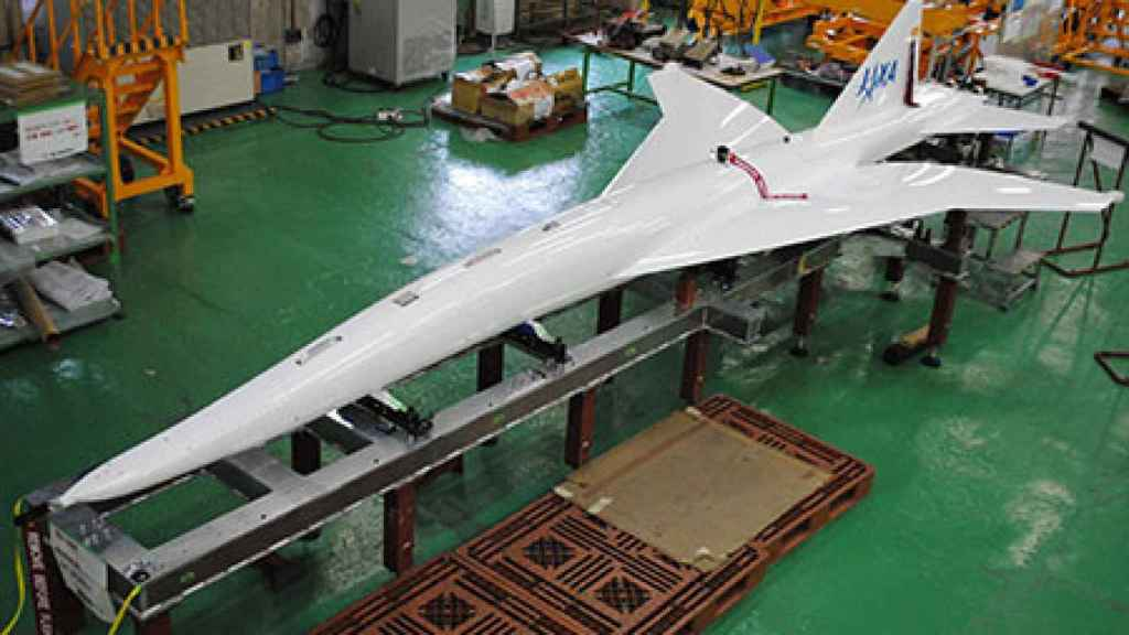 Maqueta avión supersónico
