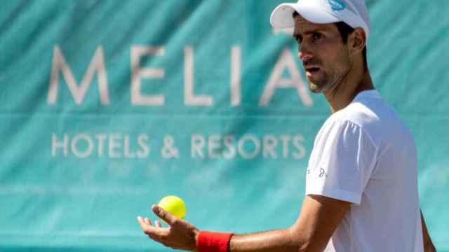 Novak Djokovic, en el Mallorca ATP