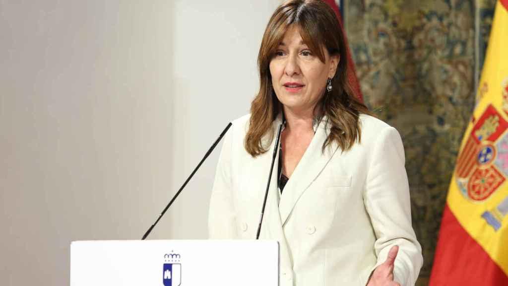 Blanca Fernández, consejera de Igualdad.