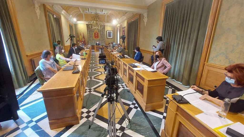 Salón de plenos del Ayuntamiento de Cuenca