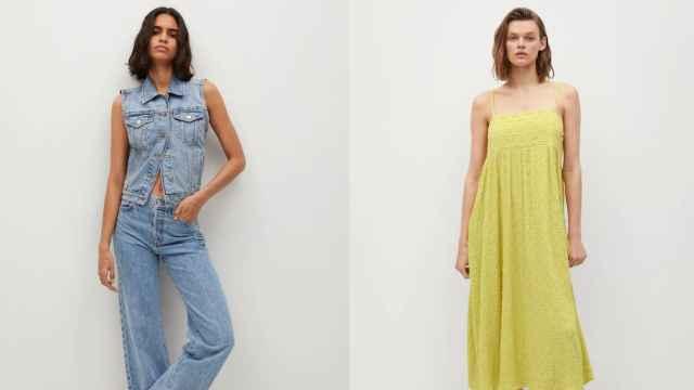 Mango estrena su colección más casual para este inicio de verano: de los 'jeans' al vestido de algodón