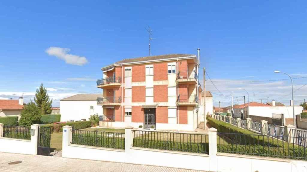 El lugar de la agresión, en Doñinos, Salamanca.