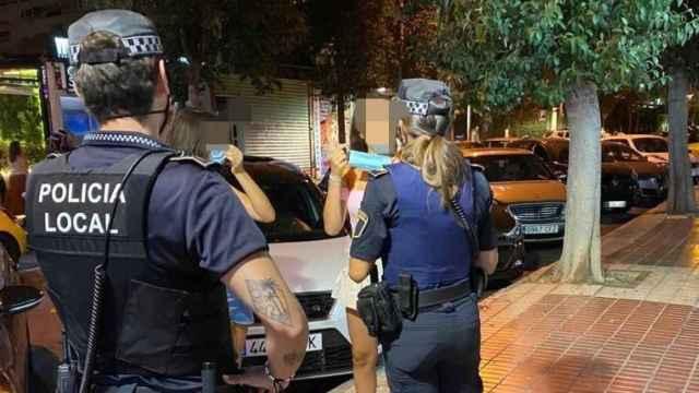 La Policía de Alicante, en imagen de archivo.