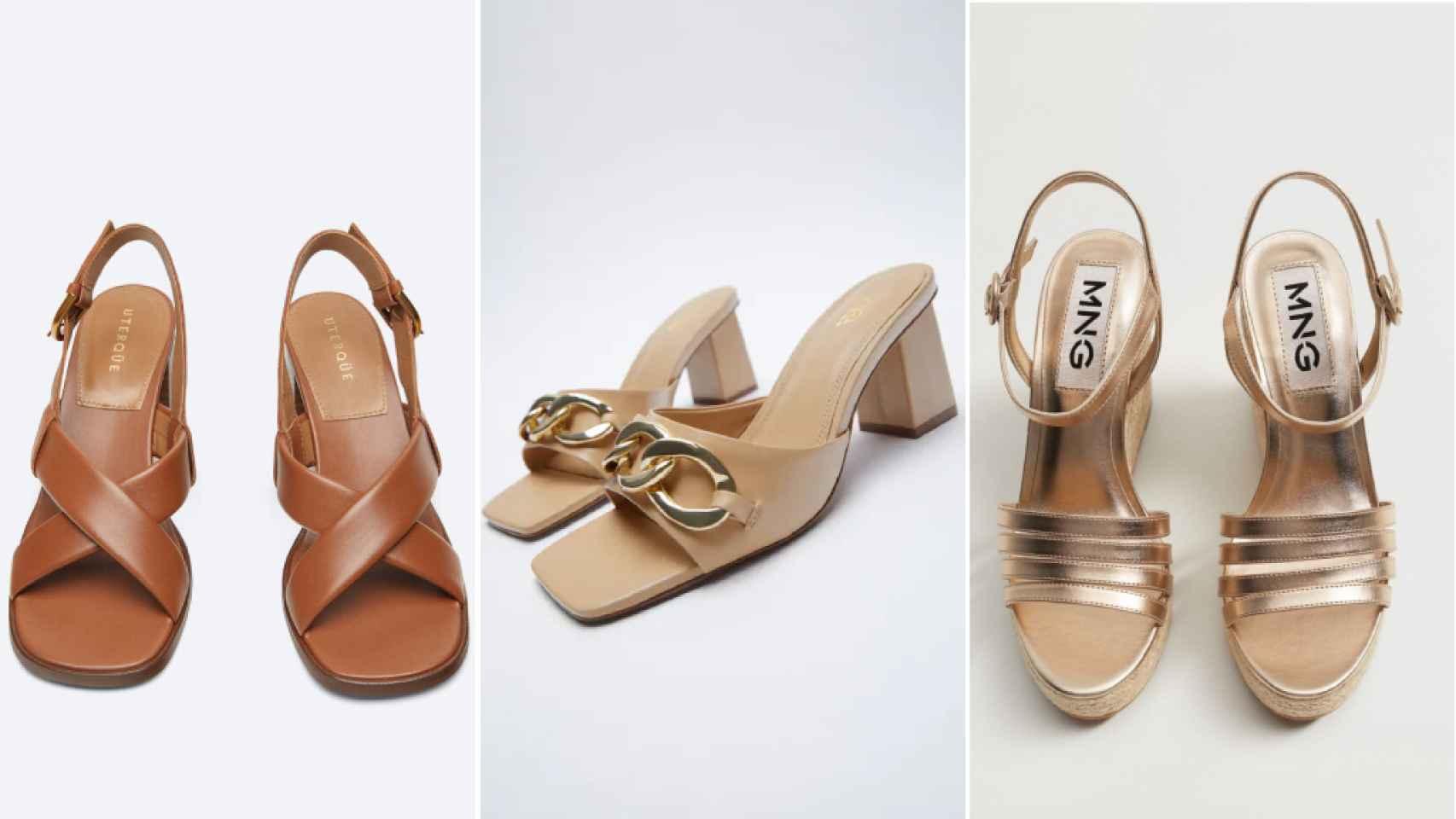 Sandalias cómodas para un 'look' de invitada perfecta.
