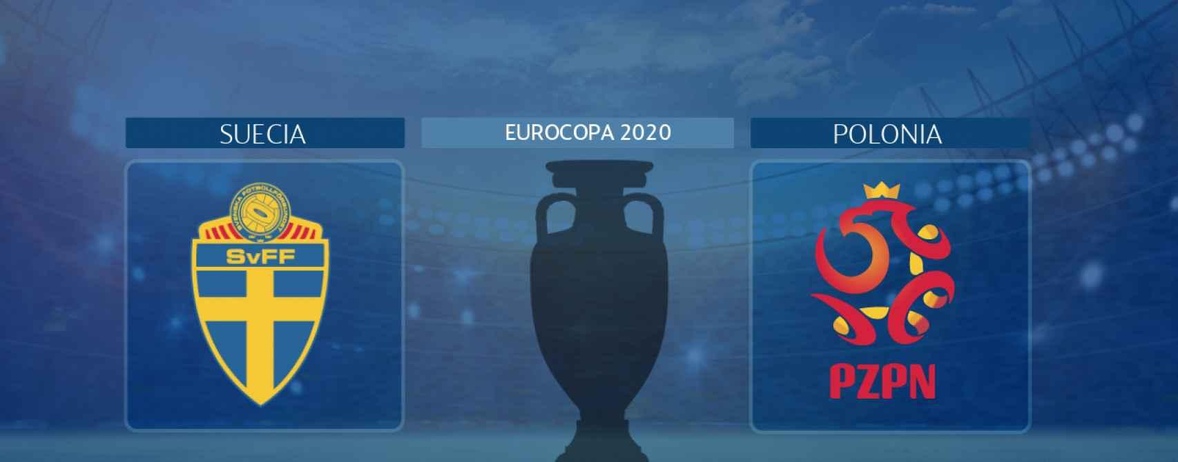 Suecia - Polonia, partido de la Eurocopa 2020